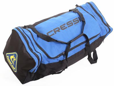 Mala de Mergulho Travel Bag Drenante Cressi Azul